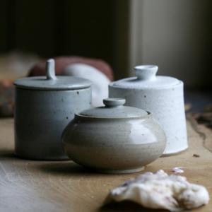Dekselpotten - Lidded jars